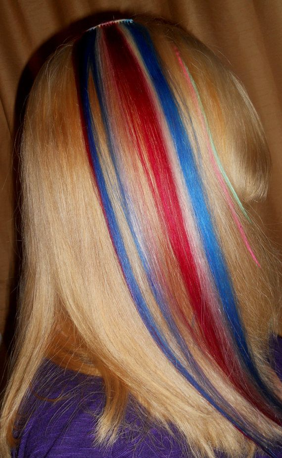 51 best clipinhairextension images on pinterest pre bonded hair american woman one hair extension red white by artisicstrands 2000 pmusecretfo Image collections