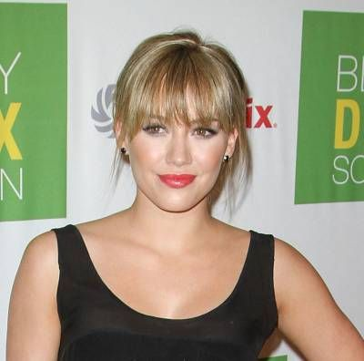 nice Hilary Duff Hairstyles Variety With 2017 Bangs