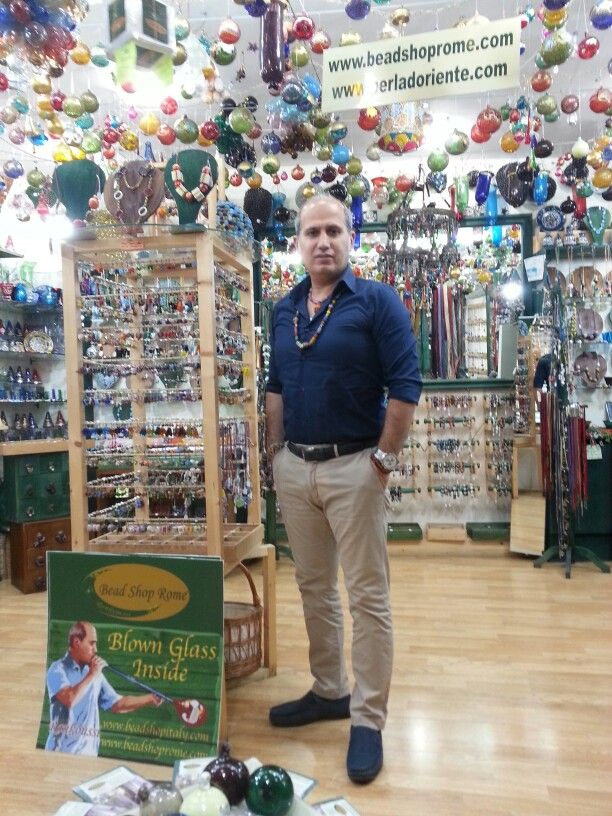 Summer Time in Bead Shop Rome by Rankoussi via Sora 30 / 31 Roma Italy.