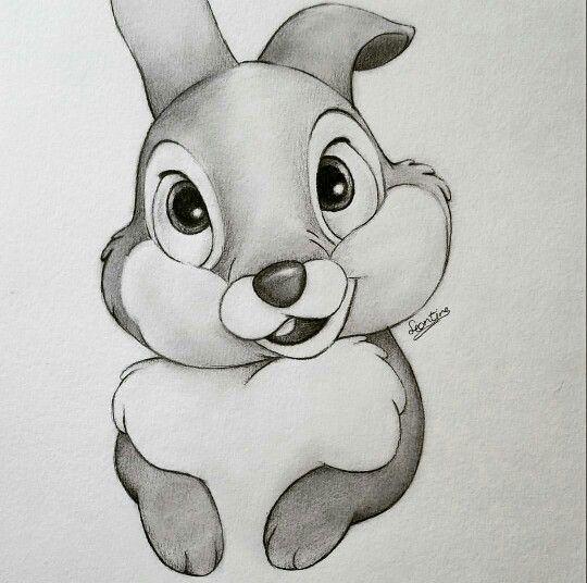 Meine Disney Zeichnung – Awwwwwww thumper bambi