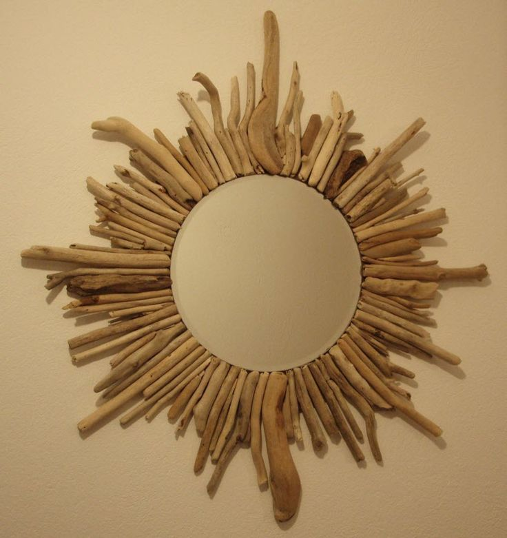 driftwood mirror that I have made myself