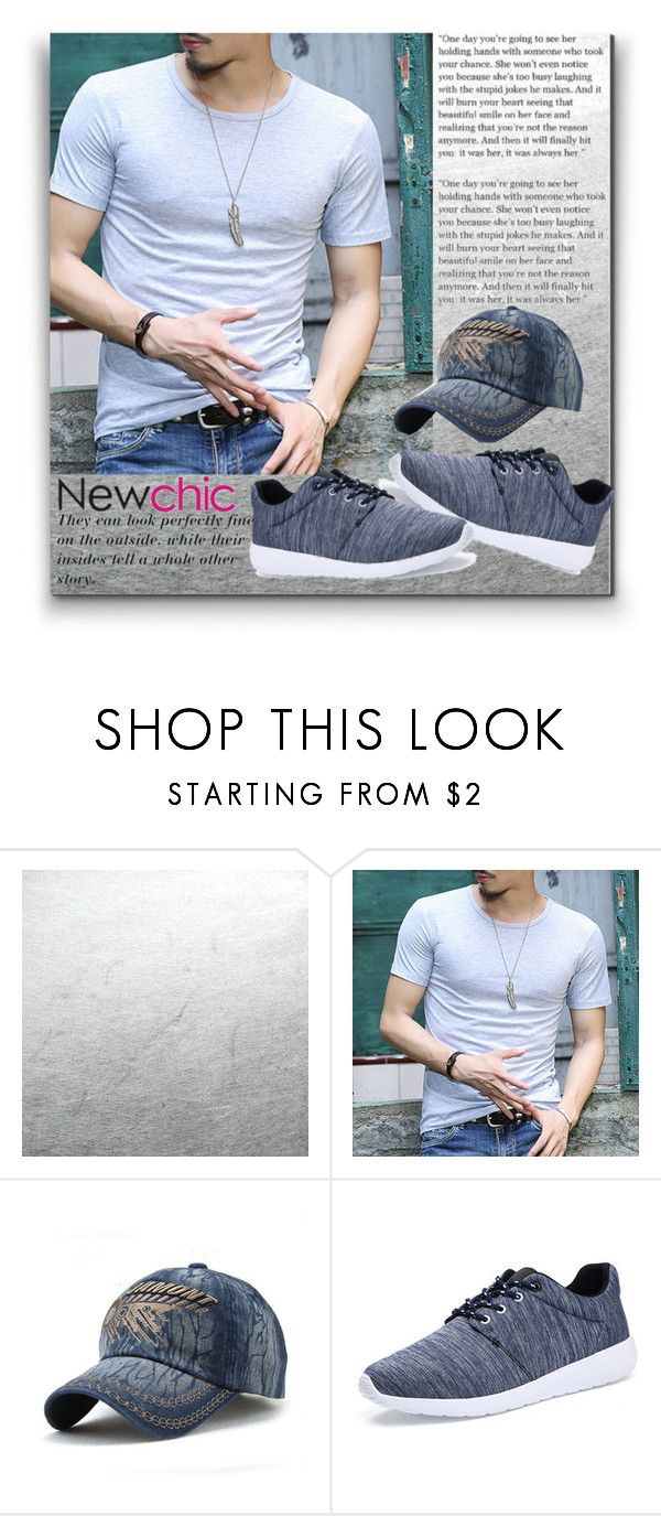"""Newchic 20/30"" by sanela1209 ❤ liked on Polyvore featuring Grey's Anatomy, men's fashion and menswear"