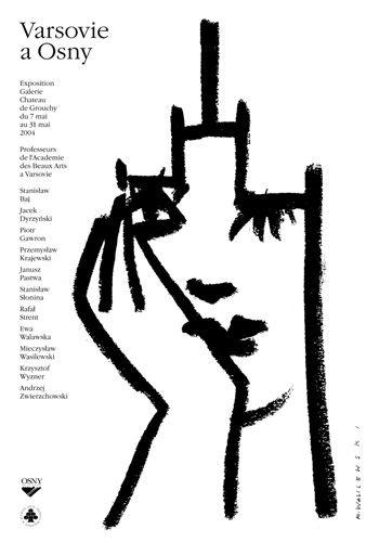 Mieczyslaw Wasilewski, Varsovie a Osny plakat wystawowy, 2004