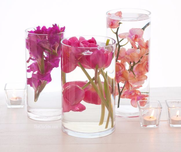 Outdoor Weddings Do Yourself Ideas: Best 20+ Submerged Flowers Ideas On Pinterest