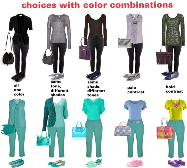 """""""Different types of color combinations"""" by dana-forlano on Polyvore"""
