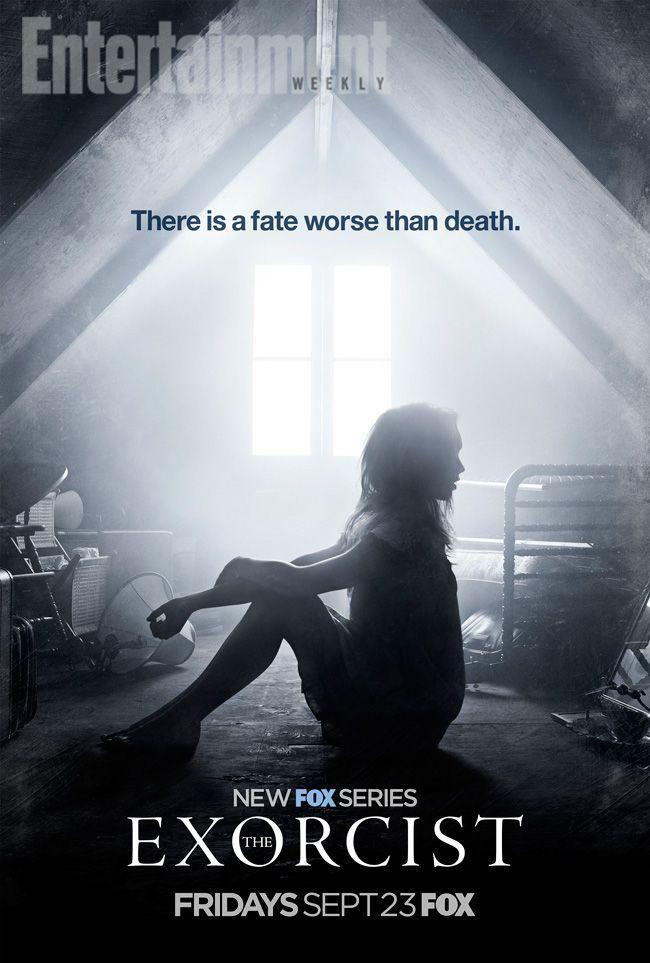 Un Nouveau Poster Pour La Serie L Exorciste L Exorciste Film Horreur Et Affiche Film
