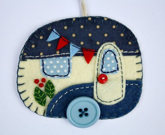 Hey, I found this really awesome Etsy listing at https://www.etsy.com/listing/240109416/felt-christmas-ornamentvintage