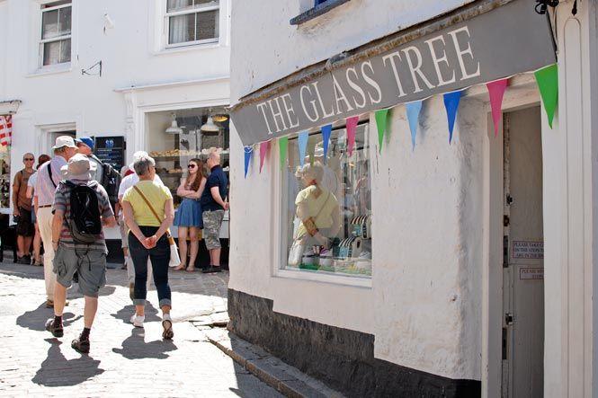 Shopping in St Ives
