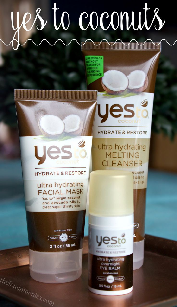 Yes to coconut skin care line