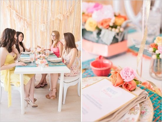 bridal luncheon ideas