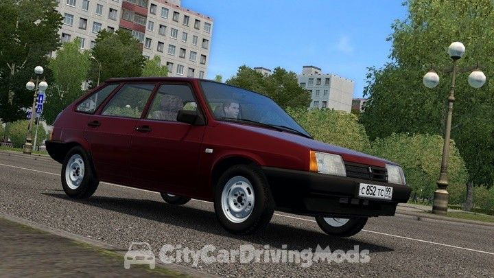 Baz Vaz 2109 City Car Driving Mods Place Ccdmods Download City Car Best City Car New Trucks