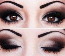Inspiring image black, brown, eyes, make up #778471 - Resolution 400x308px - Find the image to your taste