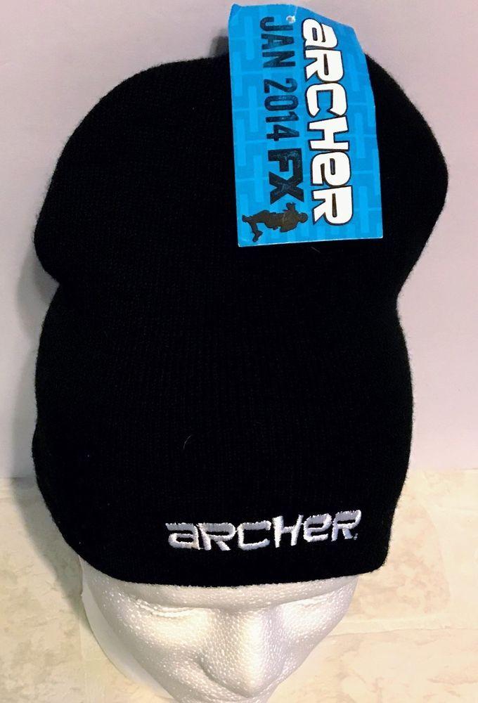 Archer FX Hat 2014 Promo Knit Beanie Skull Cap Apollo TV Series  #Apollo #Beanie