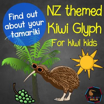 Get to know your class with this New Zealand back to school 'about me' activity for Kiwi classrooms.This is  a glyph activityWHAT IS A GLYPH?Glyphs can be used by children as a way to gather and depict data in a fun way for example a child may be given a hat and asked to colour it in red if they are a girl or blue if they are a boy.WHAT IS IN THIS ACTIVITYIn this Glyph children make a picture of a kiwi bird adding features to the picture to show- whether they have siblings- whether they…