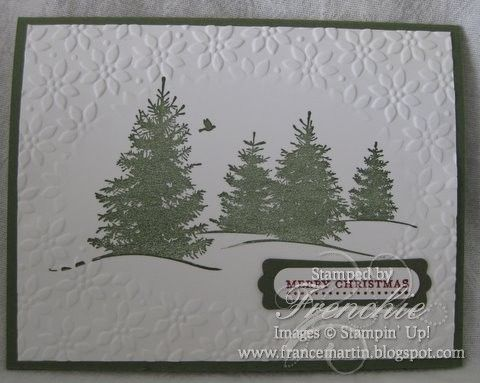 Stamp & Scrap with Frenchie: Stampin'Up! Embossing Folder/ Frame ...