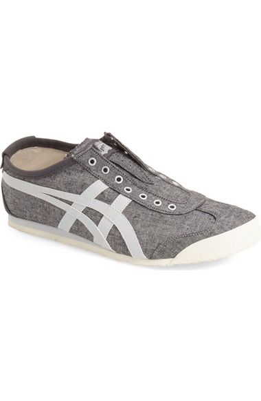 Buy 192920 Onitsuka Tiger By Asics Mexico 66 Men White Navy Blue Gold Shoes