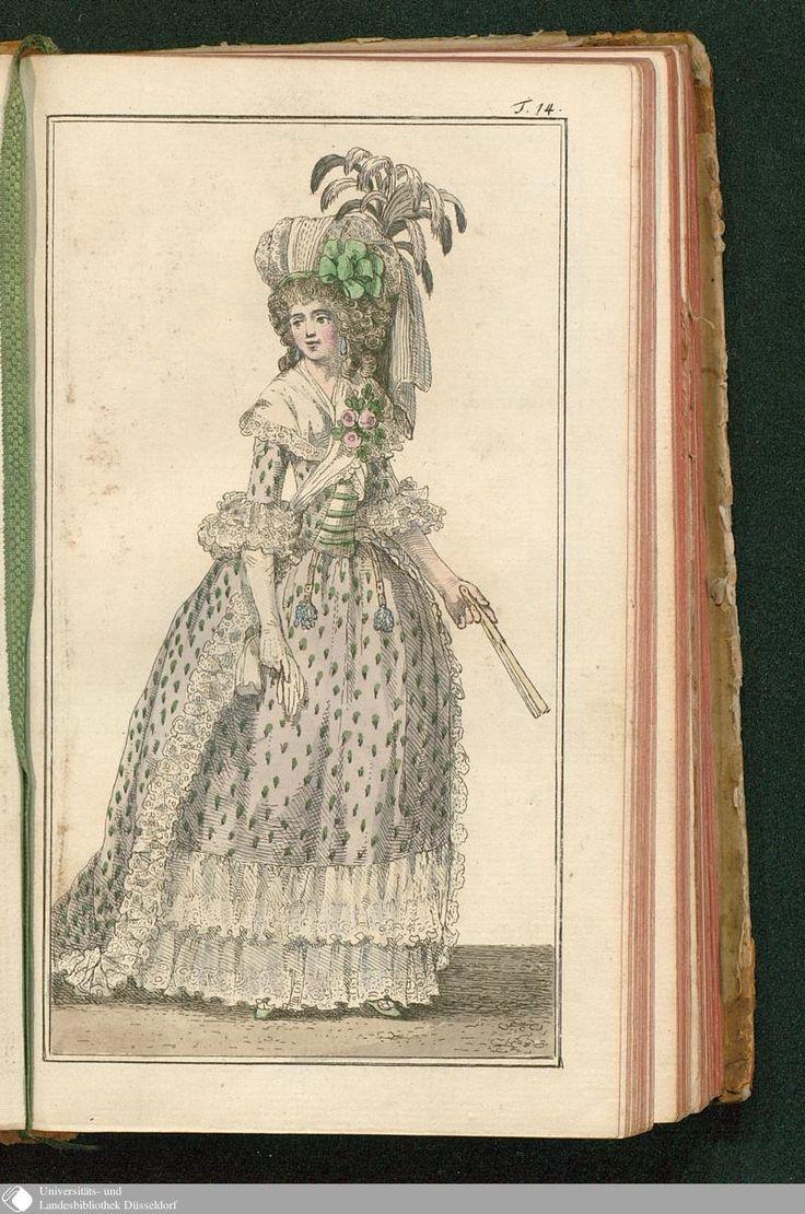 Journal des Luxus und der Moden, Tafel 14, May 1788.
