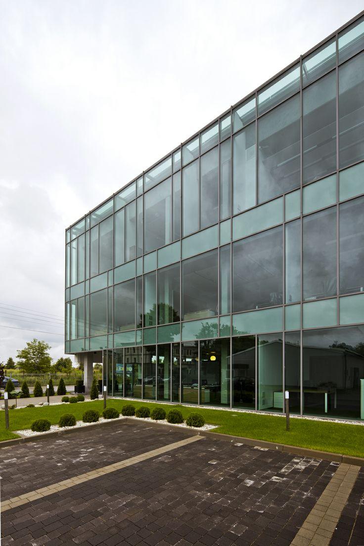Octopol company headquarter. Project by Grupa Plus Architekci. www.grupaplus.org #office #building #architecture #grupaplus