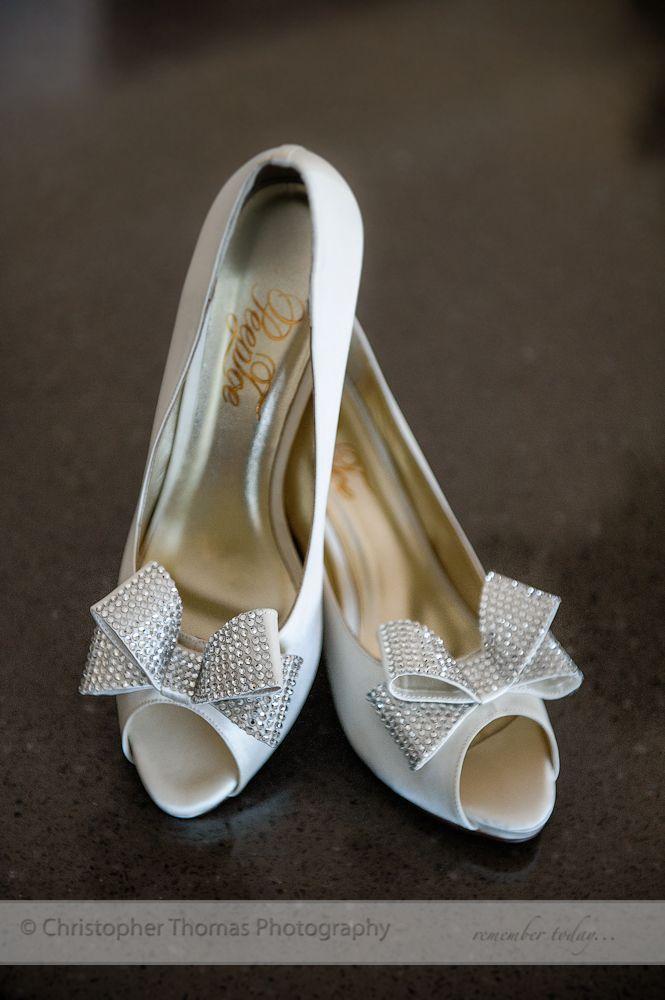 Brisbane Wedding Photographer, Christopher Thomas Photography, white wedding shoes,