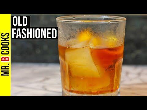 Altmodisches Cocktail-Rezept mit einfachem Sirup | Rezepte zu trinken