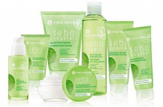 Agua micelar y Crema en gel de la línea Sebo Vegetal de Yves Rocher. Perfecto para esas temporadas en las que necesitas tener una piel más limpia eliminando el exceso de grasa.
