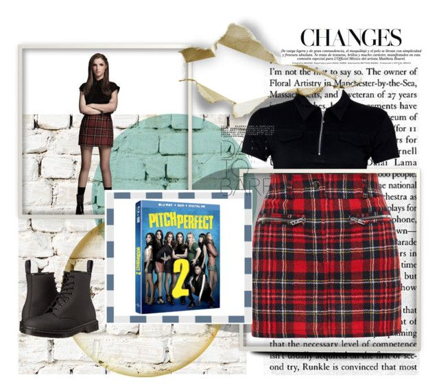 """""""pitch perfect"""" by aclarinta ❤ liked on Polyvore featuring Milton & King, Filles à papa, Dr. Martens and pitchperfect2"""