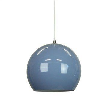 Inga Pendant Light - Pidgeon Blue