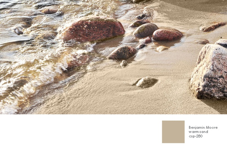 Natural and neutral paint color from benjamin moore warm for Warm sand paint color