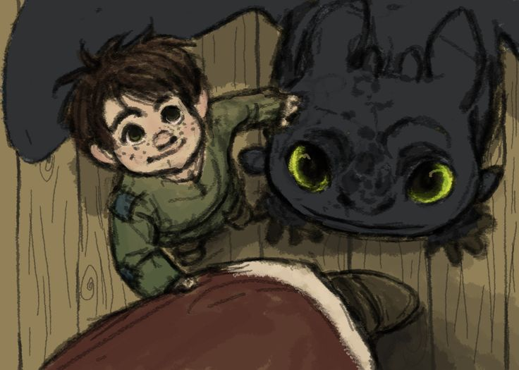 Baby hiccup and toothless