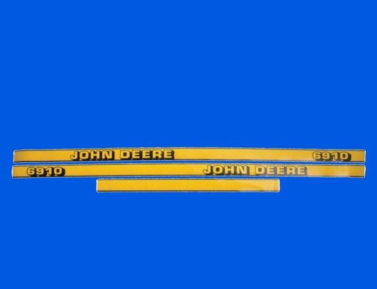 Aufkleber für Motorhaube John Deere 6010 6110 6210 6310 6410 6510 6610 6810 6910