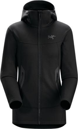 Arc'teryx Women's Arenite Fleece Hoodie Black XS