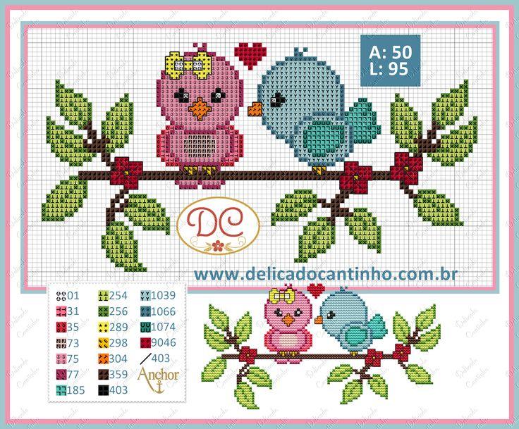 http://www.delicadocantinho.com.br/2016/05/grafico-ponto-cruz-passarinhos.html