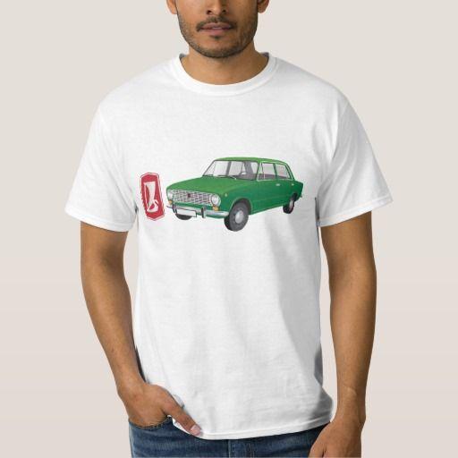 VAZ-2101 Lada 1200 DIY (green)  #lada #vaz-2101 #badge #tshirt #automobile #green