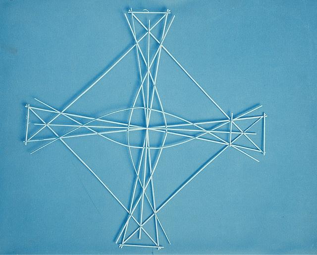 19thc chinese kite frame
