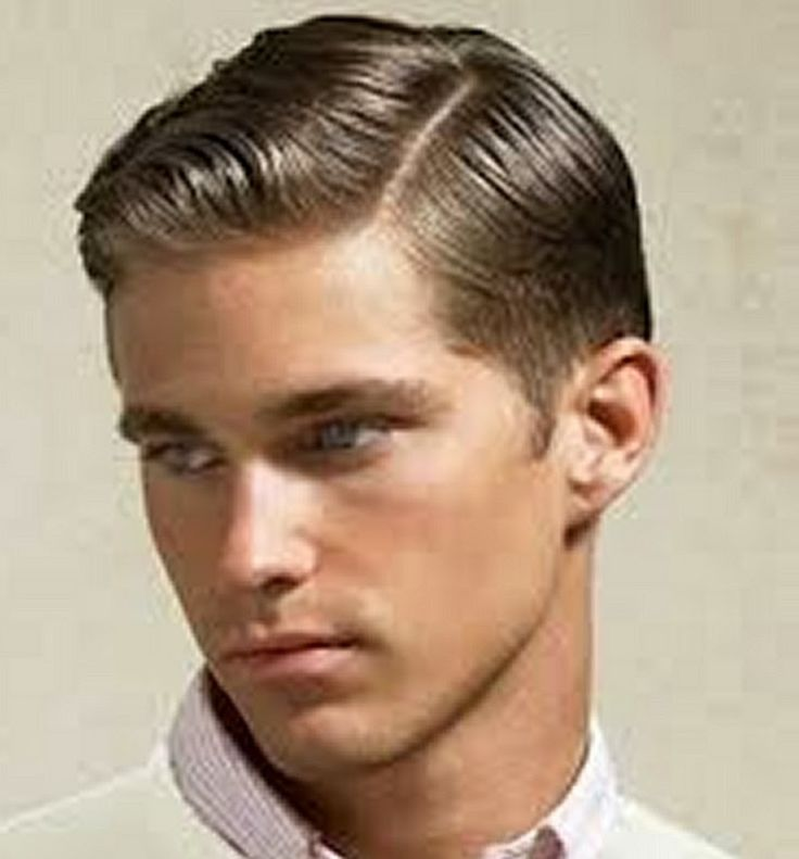 retro and calssic hairstyle for men