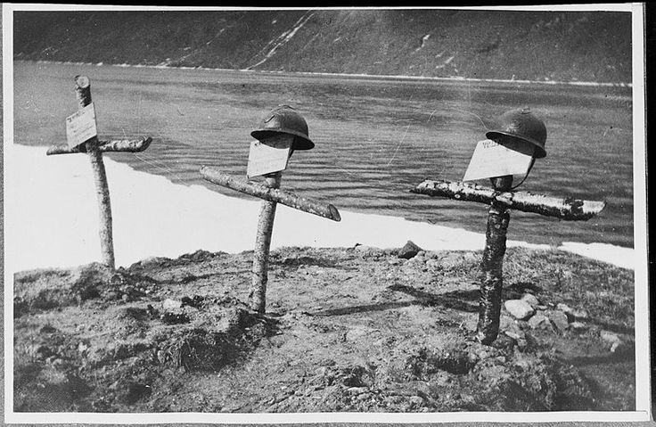 Soldatergraver fra krigen i Norge