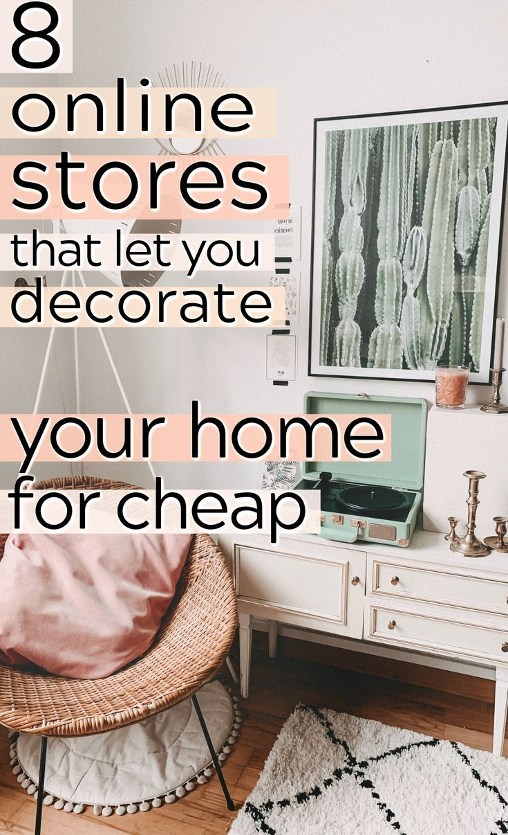 Cheap Decor 8 Stores You Need To Shop At When Decorating On A