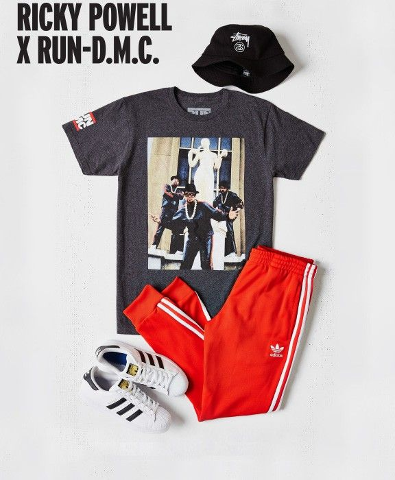 Ricky Powell x Run-DMC Clothing Collection