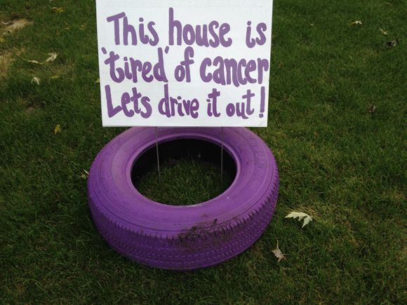 Purple tires a fundraiser for Relay for Life | Mahomet Citizen