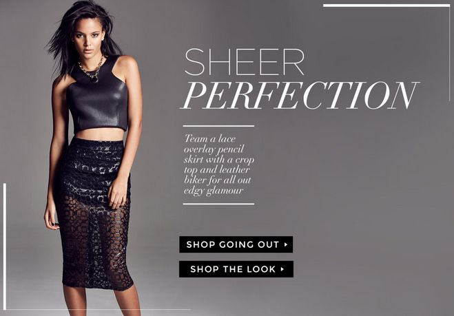 Web Banner from River Island #Web #Banner #Digital #Online #Marketing #Fashion #Recommendations