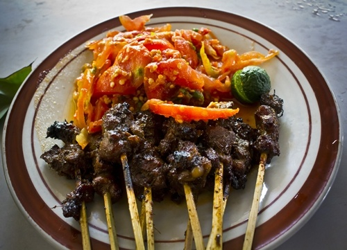 Maranggi Satay.. traditional food, from Purwakarta, Indonesia