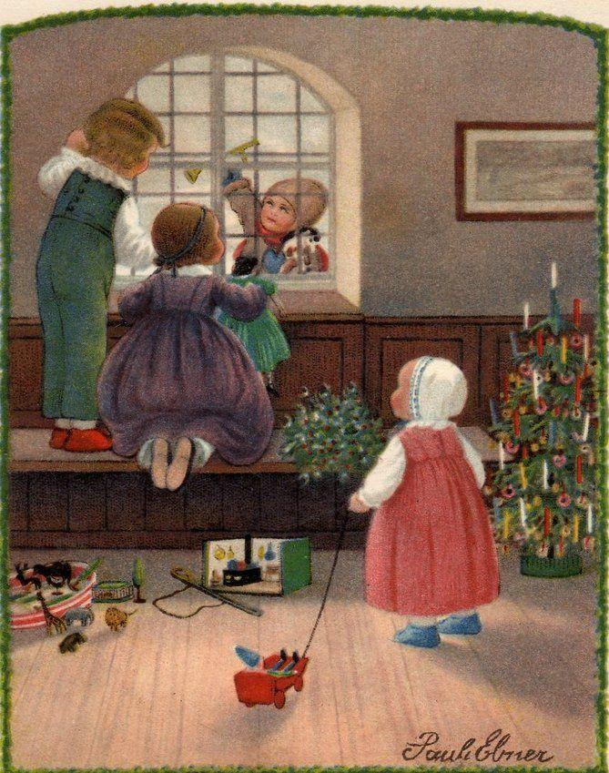 Weihnachten vor hundert Jahren- Teil II: Weihnachten aus Künstlersicht - Hannover-Bothfeld, Pauli Ebner