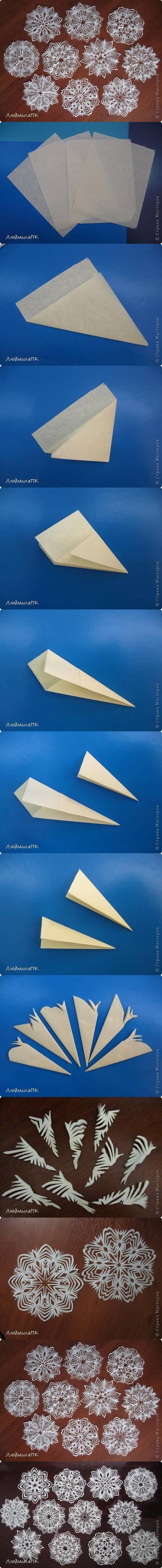 DIY: Paper Snowflakes: