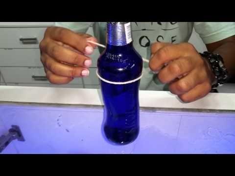 Copo com garrafa de skol beats senses - YouTube