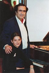Michel Sogny and his pupil Khatia Buniatishvili (msogny) Tags: concert piano villa michel schindler masterclass khatia buniatishvili sogny