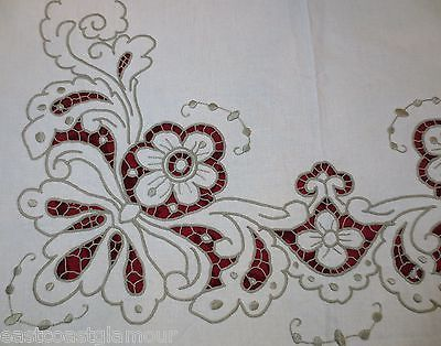 cutwork embroidery | Cutwork lace Flower Vase Machine Embroidery Design - Google Search