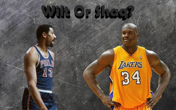 #LegendvsLegend today with two BIGGG men. Shaq Diesel and Wilt the Stilt. Both these dudes are definitely top players all time and are arguably the most dominant of their eras. However today we are asking you..... Who is better? Who would dominate eras if they switched? Who would win 1v1? Who had the greatest career?  You let us know what you think below!!!! #nba #discussion #opinion #topic #sports #basketball #follow4follow #like4like #shaq #lakers #wiltchamberlain #sixers
