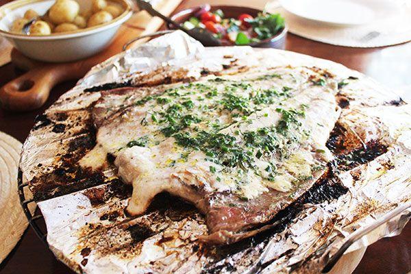 Grilled Yellowtail - perfect fish braai