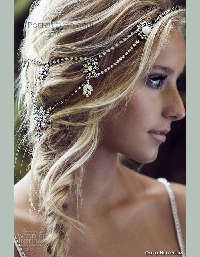 acessório-para-cabelo-da-noiva-cabelo-preso-headband-bridal-boho-cristal swarovski