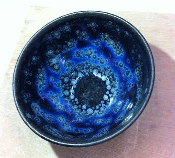 曜変天目茶碗の復元に努力した人たちの作品